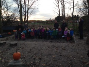 skovbørnehave halloween